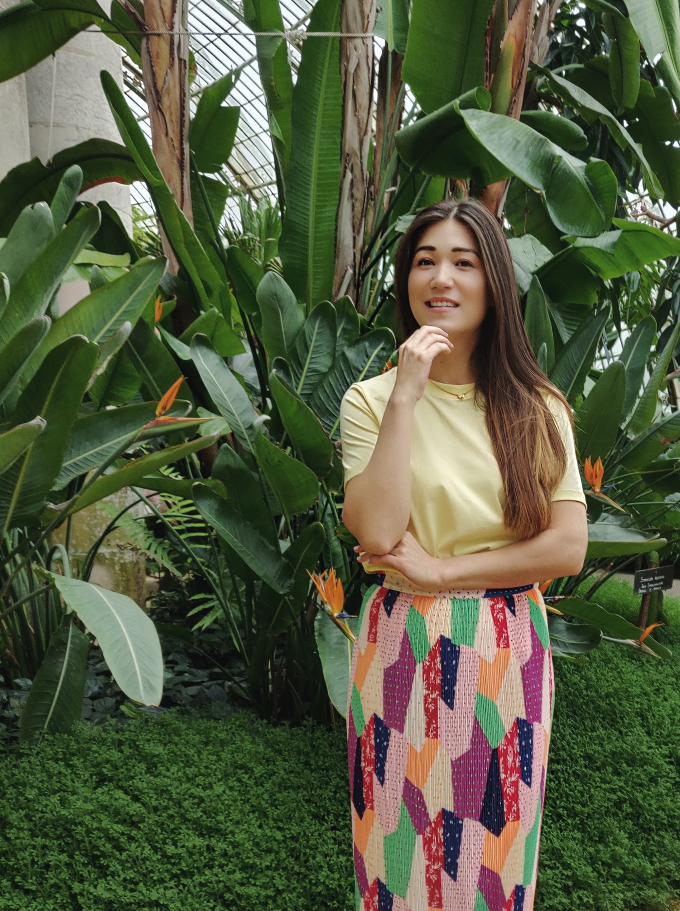 Modeblog - Pastelgele T-Shirt Pieces - Rok & Other Stories