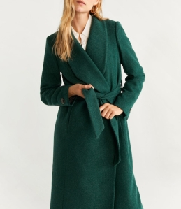 Structured Wool Coat